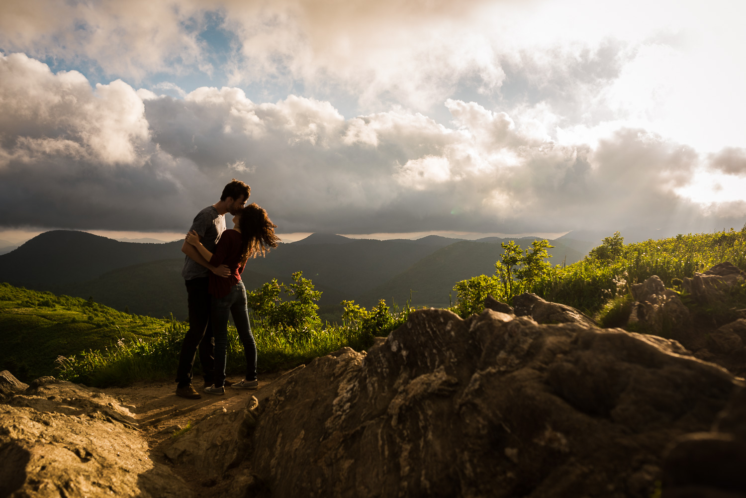 Blue Ridge Parkway Engagement Photos | Matt and Lee