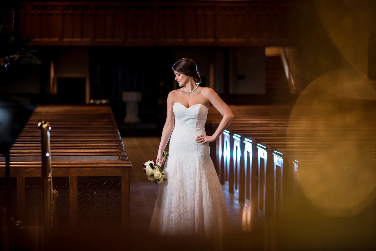 Chrissie | Christ Church Episcopal Bridal Photos