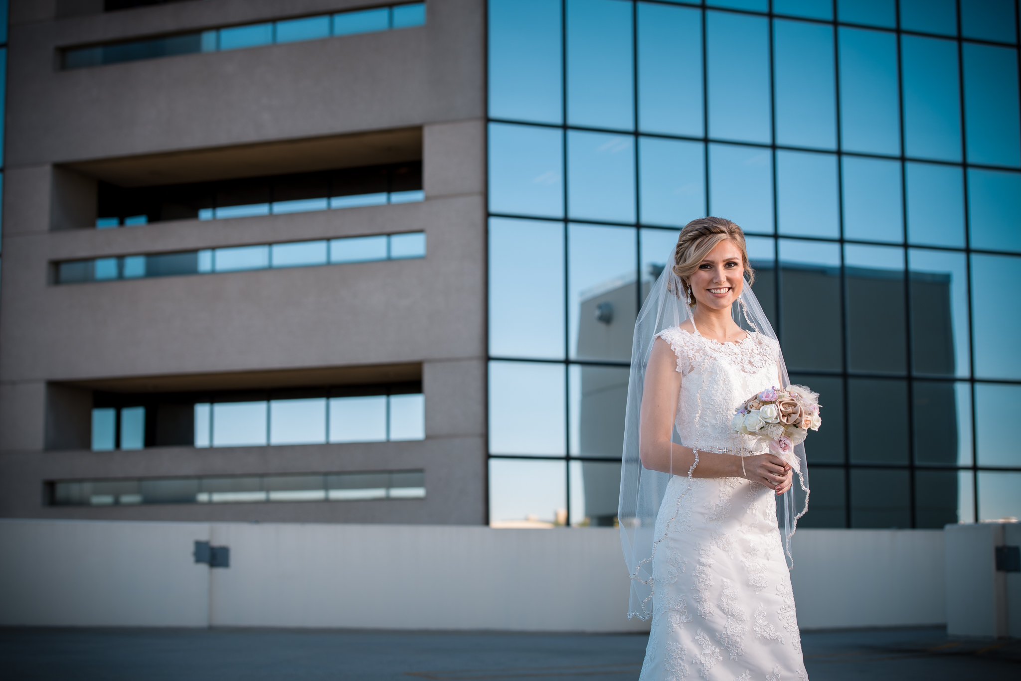 Rebecca | Downtown Greenville Bridal Portrait Photos | The Commerce Club
