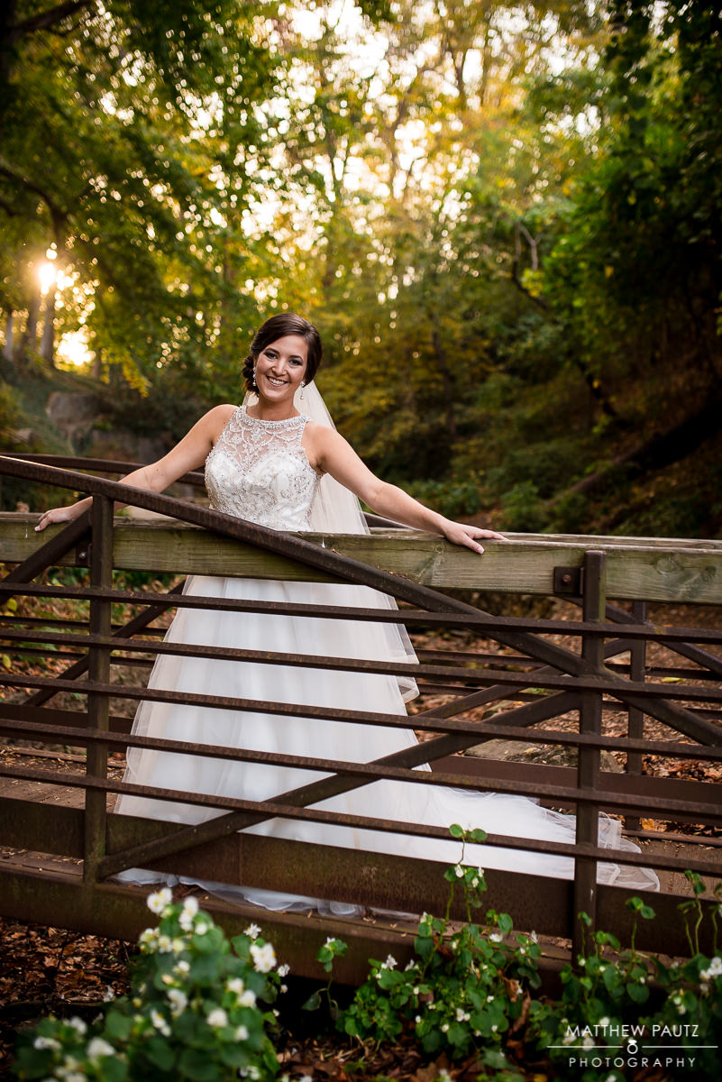 Falls park bridal photos