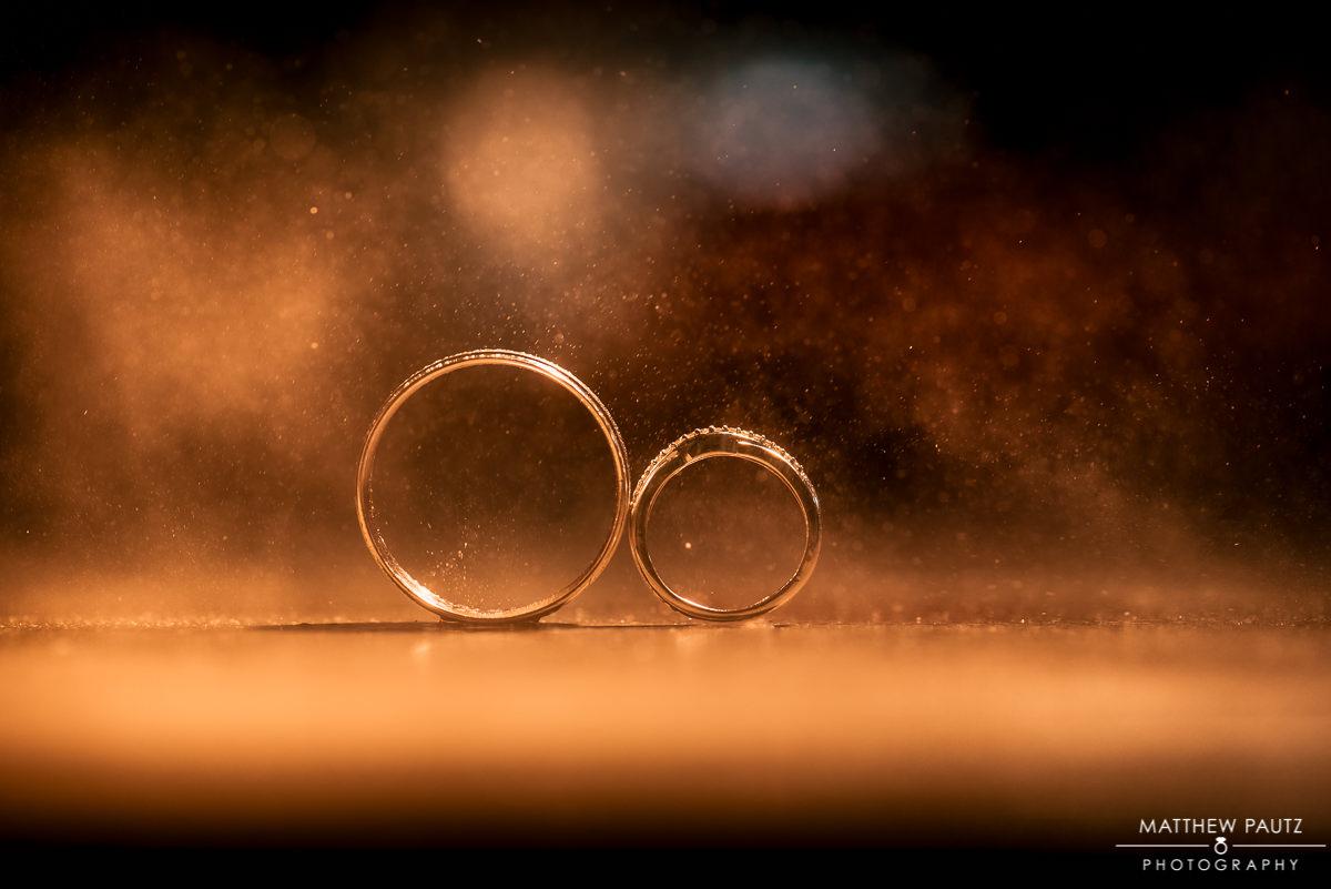 Beautiful photo of wedding rings