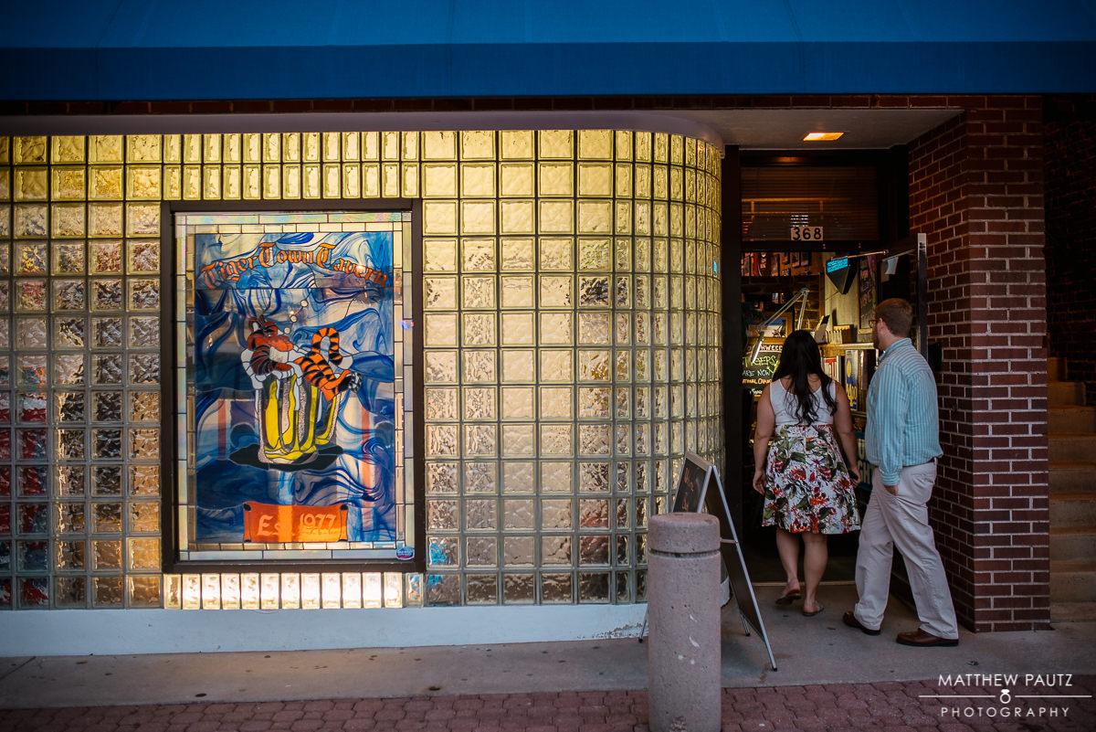 Tiger Town Tavern, downtown Clemson SC