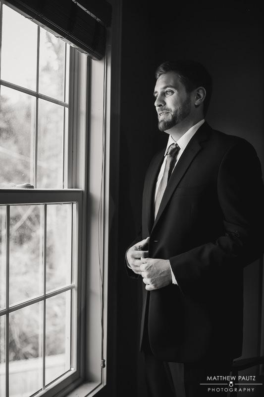 groom portrait before wedding