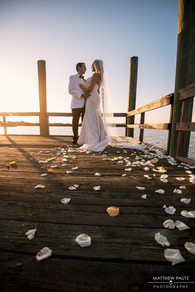 Wedding photos at The Island House, SC
