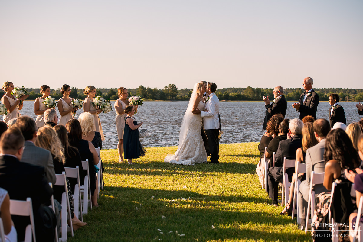 The Island House Wedding Ceremony in Charleston SC