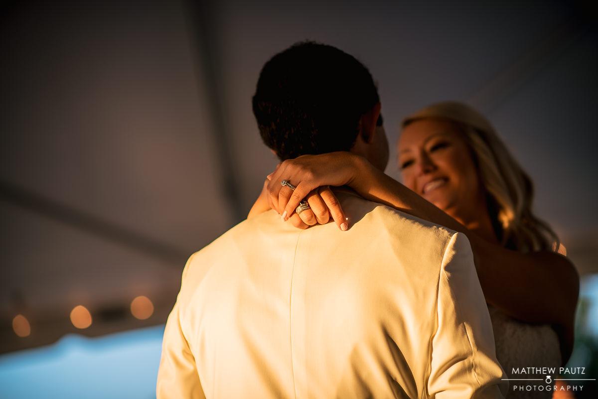 Wedding reception photos at The Island House