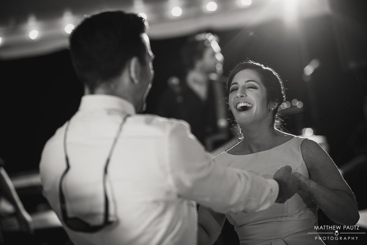 wedding guests dancing at charleston sc wedding